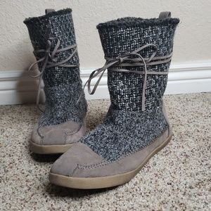 Madden Girl Suede Laced Boots